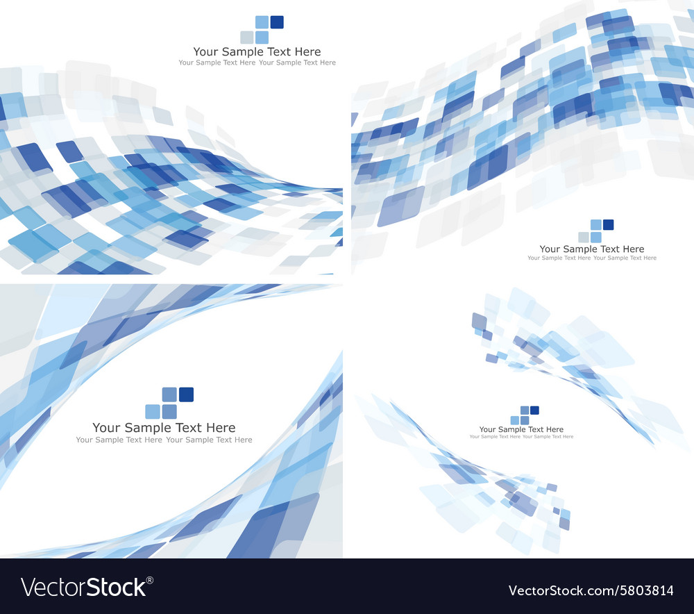 3d checked background set vector