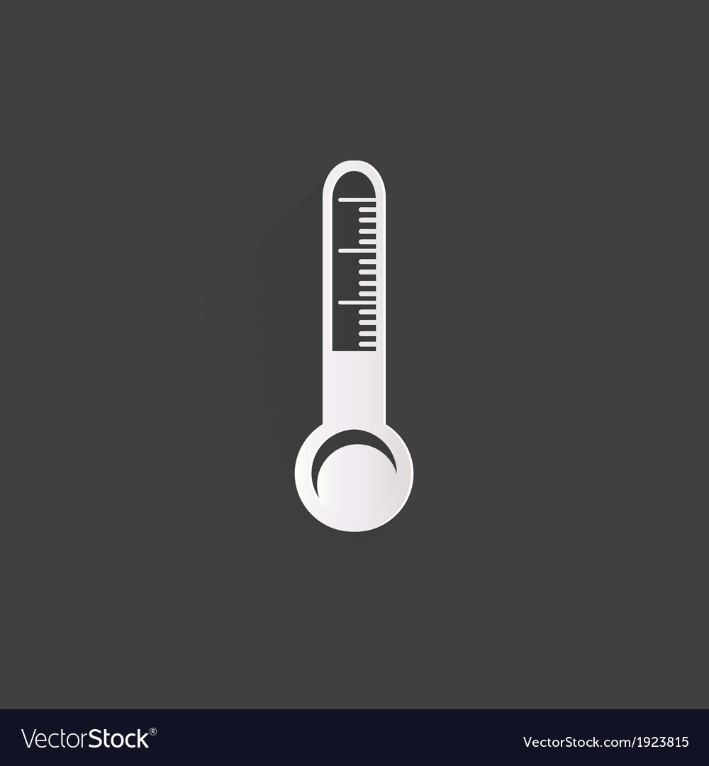 Mometer web icon vector