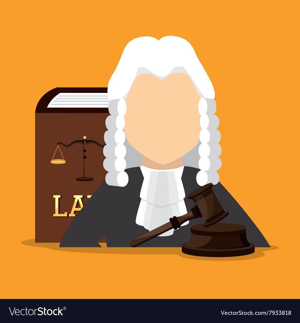 Law and order design vector