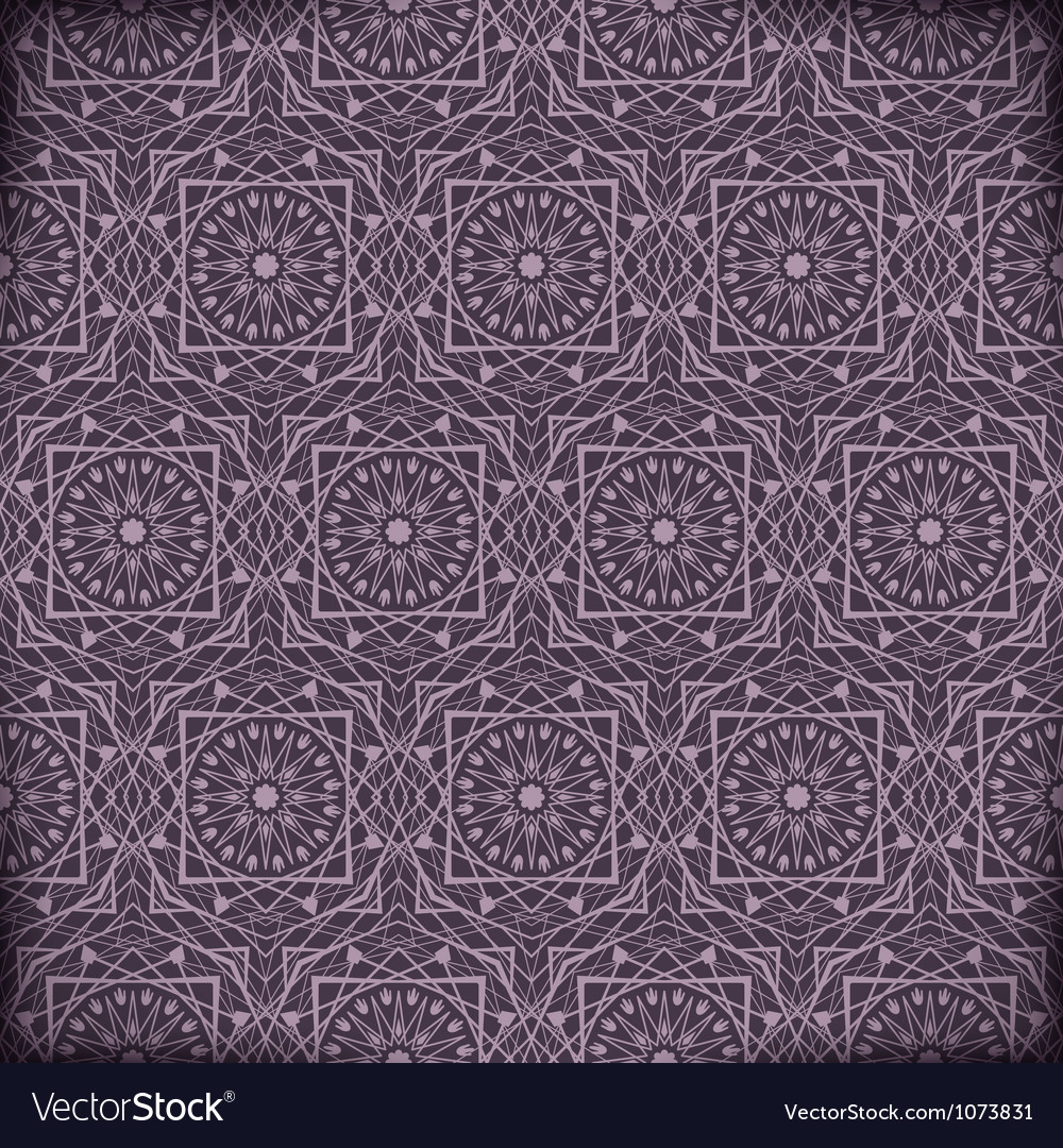 Arabic geometric background vector