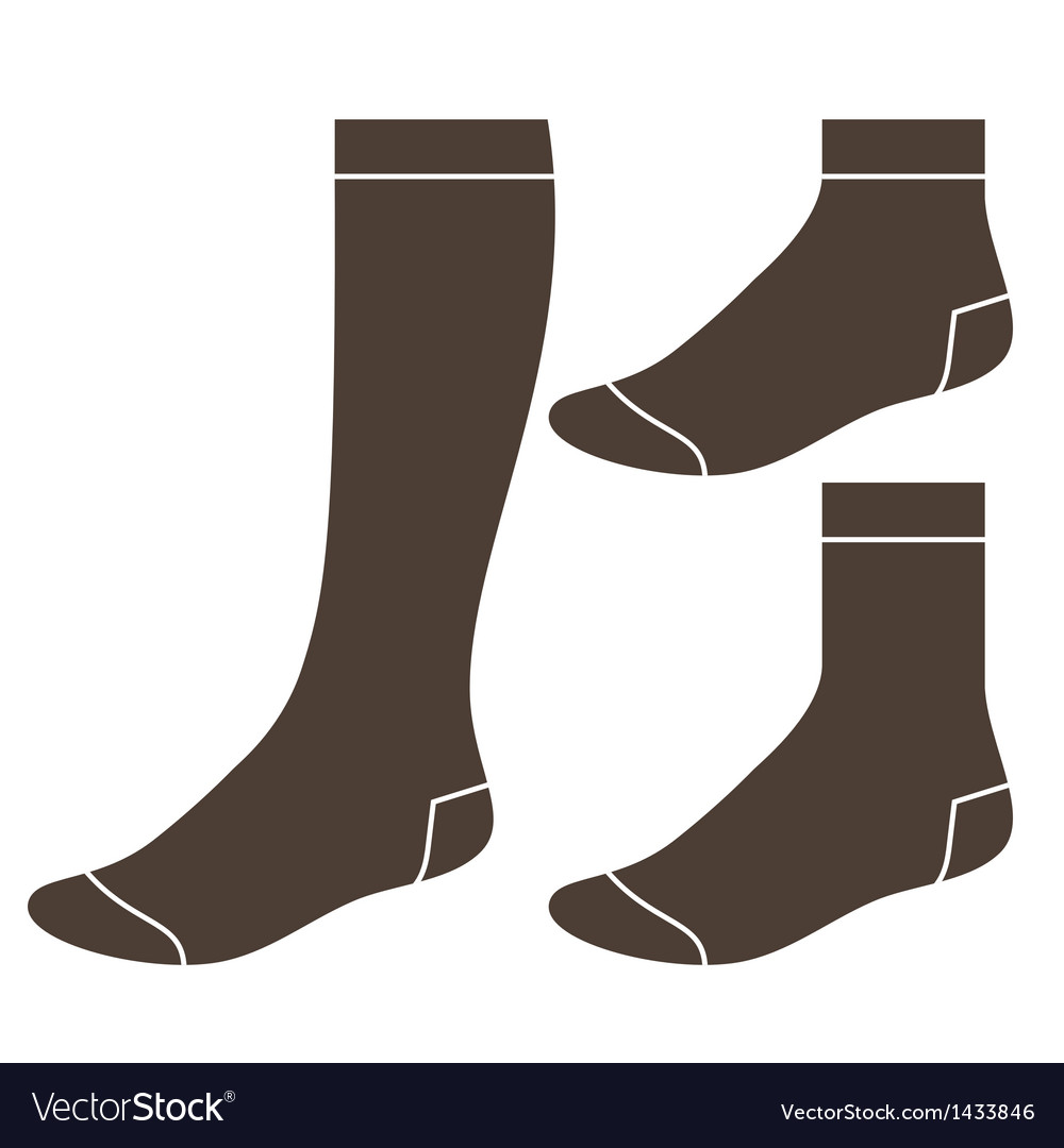 Set of socks vector