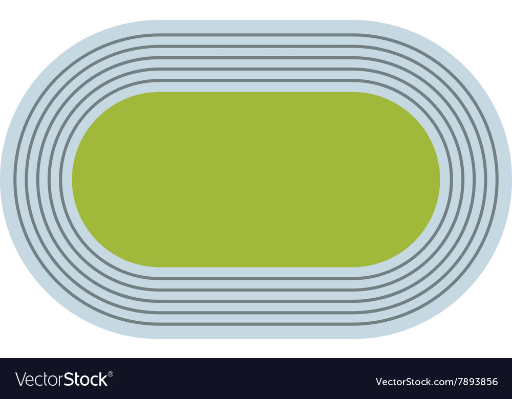 Athletics games stadium vector
