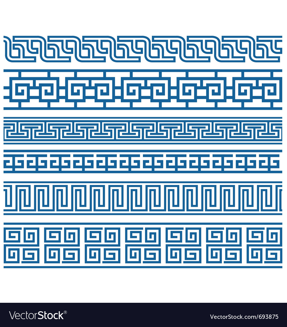 Stylish border vector
