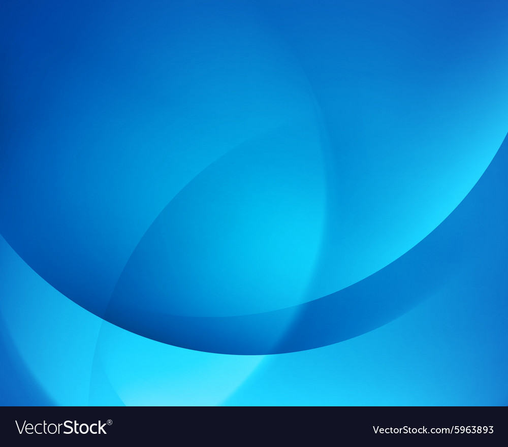 Blue smooth twist light bright wave lines vector