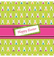 easter wrapping vector image