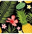 Hand drawn tropical seamless vector image