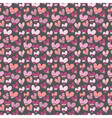 seamless pattern with small hearts vector image