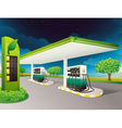 Petrol Station vector image vector image