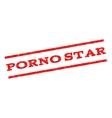 Porno Star Watermark Stamp vector image