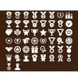 Competition and Awards Icons vector image