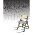 Cobble Stones Chair vector image vector image