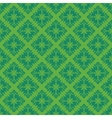 Green vintage seamless pattern vector image