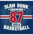 Basketball t-shirt - vector image