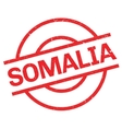 Somalia rubber stamp vector image
