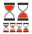 Sand Glass Timer vector image