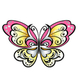 cartoon butterfly graphic vector image vector image