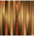 Brown wooden texture background vector image vector image