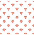 baby girl clothes pattern seamless vector image