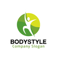 Body Style Design vector image