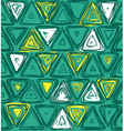 pattern with triangles vector image vector image