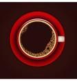 coffe cup 3 vector image