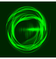 Abstract wave technology background vector image vector image