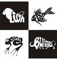 animals logo 1 vector image