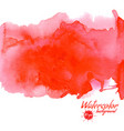 red watercolor background for textures and vector image