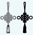 Chinese knot vector image