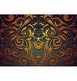 Abstract ornamental background vector image