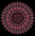 Mandala design aboriginal dot painting s vector image
