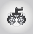phoropter logo vector image