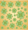 St Patrick day background vector image vector image