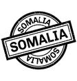 Somalia rubber stamp vector image
