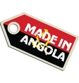 Made in Angola vector image vector image