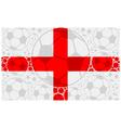 England soccer balls vector image vector image
