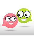 coupleChat vector image