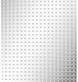 Silver background with small pattern vector image