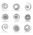 Spiral movement Vector Image