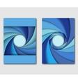 Set of design templates handbill or flyer vector image