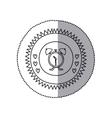 Bell alarm clock vector image