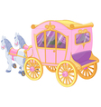 Princess Carriage vector image