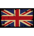 Grunge British Background 2 vector image vector image