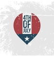Independence Day 4th of July vintage Banner vector image
