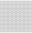 Simple geometric pattern black and white vector image vector image