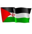 flag of Western Sahara vector image vector image