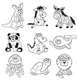 Cartoon toys vector image