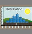 distribution vector image