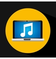 video player social media icons design vector image