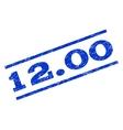 1200 Watermark Stamp vector image